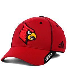 b794a5a2ff9 adidas Louisville Cardinals Ncaa 2014 Coaches Flex Cap Louisville  Cardinals
