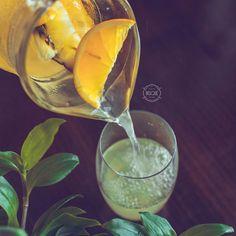 Ginger Zinger Lemonade.