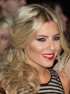 Love Mollie King's sexy up-do