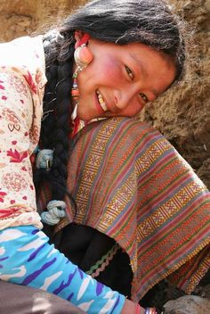 face of tibetan