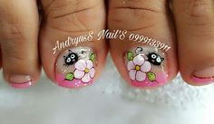 Toe Nail Art, Toe Nails, Diy Hacks, Nail Designs, Pedicures, Mary, Plaits Hairstyles, Gel Nail, Work Nails