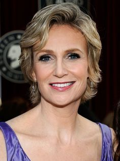Jane Lynch. Candid, wry, funny lady. Sober!