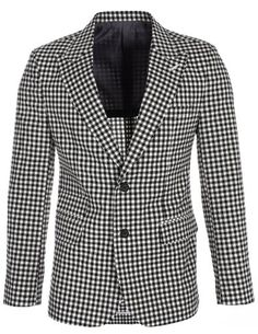 FLATSEVEN Mens Designer Slim Black Checkered Plaid Peaked Lapel Blazer Jacket (BJ454) Boys 2XL FLATSEVEN http://www.amazon.com/dp/B00KPTOFZC/ref=cm_sw_r_pi_dp_ezg2ub1DD9H7T #FLATSEVEN #Men #Fashion #Lapel Blazer #Blazer #Jacket