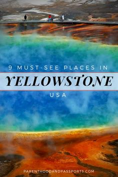 9 must-see sights in Yellowstone National Park - Yellowstone National Park is one of the most beautiful national parks in the United States. From geysers, to hot springs, to waterfalls, this guide shows you the best things to do in Yellowstone, and includ Yellowstone Map, Yellowstone Vacation, Yellowstone National Park, Yellowstone Hot Springs, Grand Teton National Park, National Park Camping, Us National Parks, All Family, Family Travel