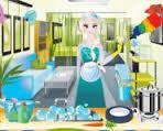 Elsanın Temizlik Günü Oyunu Kız Oyunları