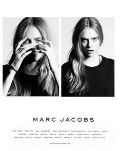 Cara Delevigne for Marc Jacobs