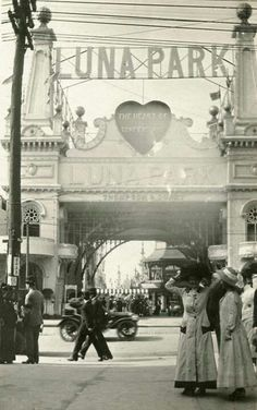 Luna Park, Coney Island  www.pinterest.com/wholoves/Sydney   #sydney #australia