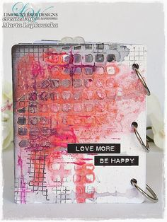 http://artistycrafty.blogspot.com/2015/07/love-more-mixed-media-journal-video.html