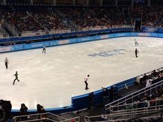 The final six skaters take to the ice. Hanyu will go third in this group, then it's Chan.