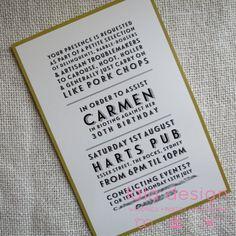 Carmens 30th