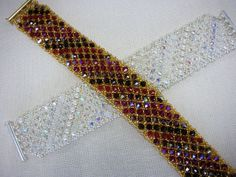 Crystal Wedding Cuff