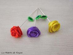 Cómo hacer rosas de fieltro para decorar, regalar...