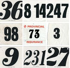 Race Car Number Fonts Design Pinterest Number Fonts Fonts