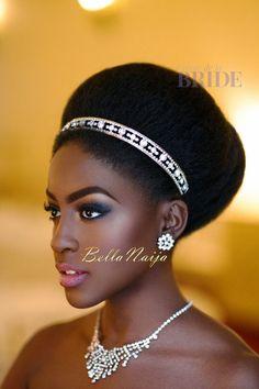 Dionne Smith Natural Hair Bride Inspiration - Bellanaija - June2015012