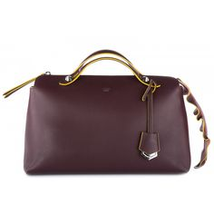 Borsa donna a mano shopping in pelle bauletto grande by the way coda waves
