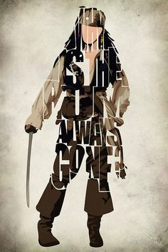 Captain Jack Sparrow by Ayse Toyran