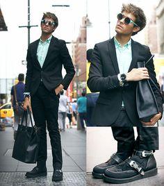 Mercedes Benz Fashion Week - Day 2 (by Adam Gallagher) http://lookbook.nu/look/3986958-Mercedes-Benz-Fashion-Week-Day-2
