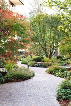Holland Park Villas - Jo Webster Properties Ltd (ID Park Landscape, Urban Landscape, Intranet Portal, Area Industrial, Urban Garden Design, Holland Park, Landscape Architecture Design, Garden Park, Parking Design