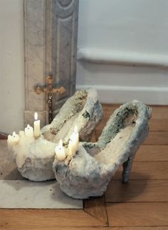 Corny candle shoes