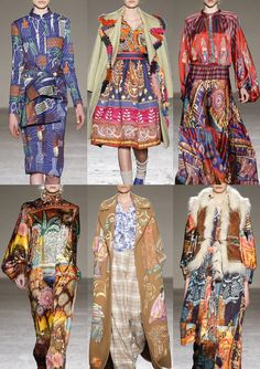 Milan Fashion Week Womenswear Print Highlights Part 1 – Autumn/Winter 2015/16 | Patternbank