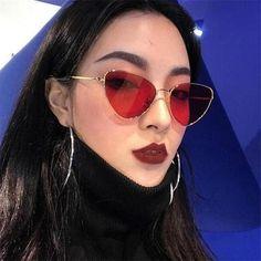 88fb9b1f060 Cat Eye Women Sunglasses Sg0047 Tinted Color Lens Vintage Shape Uv400