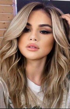 Brown Hair Balayage, Hair Color Balayage, Hair Highlights, Gorgeous Hair Color, Cool Hair Color, Hair Colors, Blonde Hair Looks, Hair Color And Cut, Light Hair