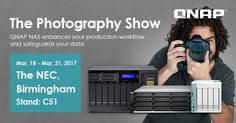 QNAP showcases new Thunderbolt NAS lineup, budget-friendly 10GbE-ready business NAS and more NAS solutions at the Photography Show 2017