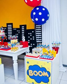 Super 5th Superhero Birthday Party - Bella Paris Designs