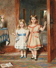 George Goodwin Kilburne - Sisters