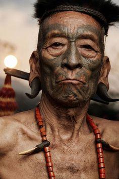 Konyak tribe on Behance