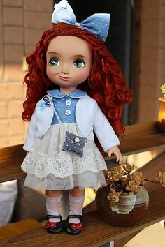 Disney Animator 16 doll clothes fit 1/4 MSD BJD by darlingja