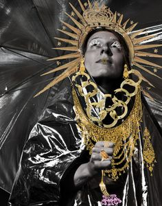"""""""Virgin Mary in space,"""" original portrait photography by artist Jelena GG (France) available at Saatchi Art. #SaatchiArt"""
