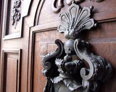 One of the many beautiful door handles in Vienna