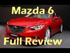2014 Mazda 6 diesel Test Drive Video Review