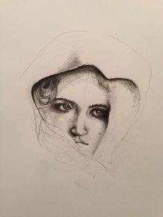 """A Portrait.""/sketchedbysonerdemirel."