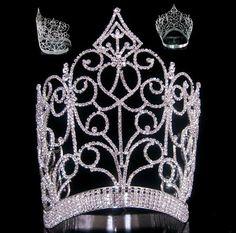Royal Imperial Queen rhinestone crown tiara