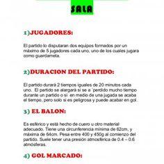 REGLAS DE FUTBOL SALA 1)JUGADORES  El partido lo disputaran dos equipos  formados por 58b56f1d0b4ec