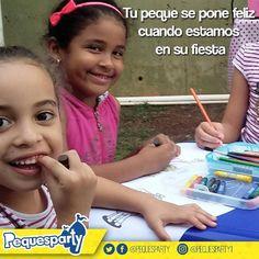 Las #niñas siempre se divierten en grande cuando #Pequesparty llega a su fiesta.  Queremos conocerte   #pequesparty #maracaibo #maracaiboguia #juegos #diversion #niños #entretenimiento #animacion #interaccion #fiestainfantil