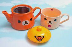 Rilakkuma Tea Set – San-X Kitchen Ware
