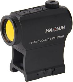 HOLOSUN HS403B Micro Red Dot Sight (2 MOA) with AR Riser ...