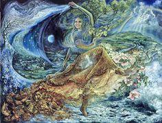 """Dance of All Seasons 1"" par Josephine Wall"