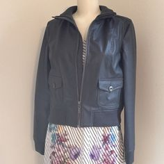 CLEARANCEFaux Leather Jacket Beautiful gray leather jacket Jackets & Coats