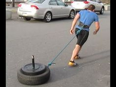 DIY Weighted Sled for Strength & CrossFit Workout Sled Workout, Fun Workouts, At Home Workouts, Crossfit, Sports Dietitian, Backyard Gym, Diy Home Gym, Athlete Nutrition, 30 Minute Workout