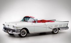 A beautiful 1958 Buick Limited Convertible. #vintage #1950s #cars | Whether you're interested in restoring an old classic car or you just need to get your family's reliable transportation looking good after an accident, B & B Collision Corp in Royal Oak, MI is the company for you! Call (248) 543-2929 or visit our website www.bandbcollision.com for more information!