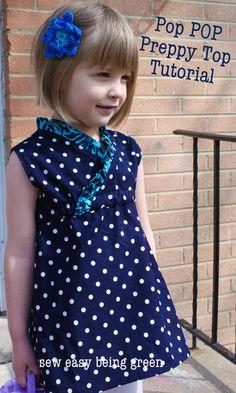 Vestido niña - Tutorial