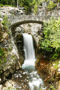 Not too far from us, beautiful! Christine Falls, Mt. Rainier National Park, WA State.