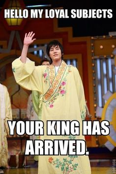 Kyuhyun.. This character would fit you so well you evil maknae >:3