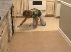 How to install peel and stick tile floor