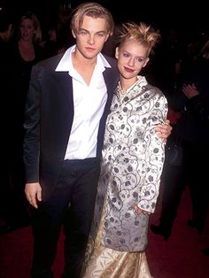 Claire Danes - 1996 With Leonardo DiCaprio at the premiere of Romeo + Juliet in Los Angeles   allure.com