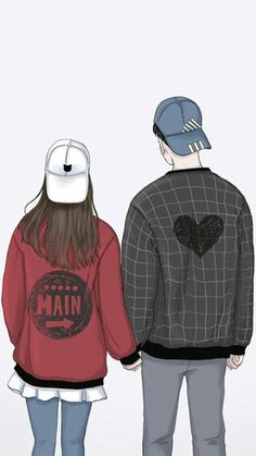 Love art pictures couples in 60 ideas for 2019 Cute Couple Drawings, Cute Couple Art, Anime Love Couple, Cute Anime Couples, Cute Drawings, Love Couple Cartoon, Pencil Drawings, Hipster Drawings, Couple Swag